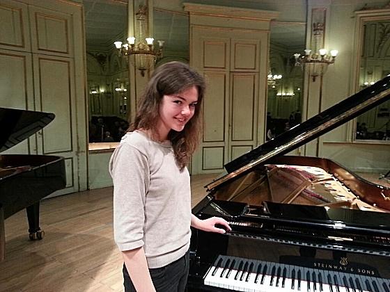 Anne-Cécile Rouillier, vinnare av tävlingen